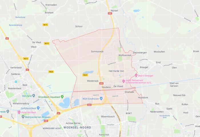 Bedrijven in de regio Eindhoven groeien het snelst in Son en Best